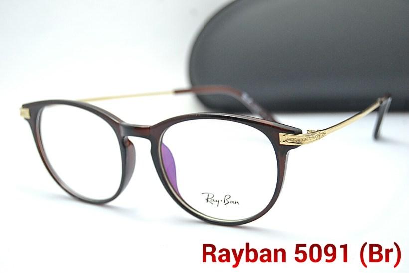 Jual Frame Kacamata Rayban 5091 Pria Wanita Bulat Baca Minus 27978db941