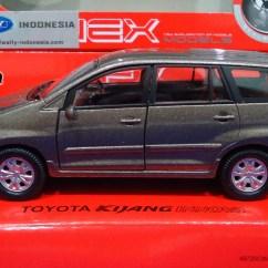 Pilihan Warna All New Kijang Innova Modifikasi Jual Diecast Miniatur Toyota Black 1 40 By