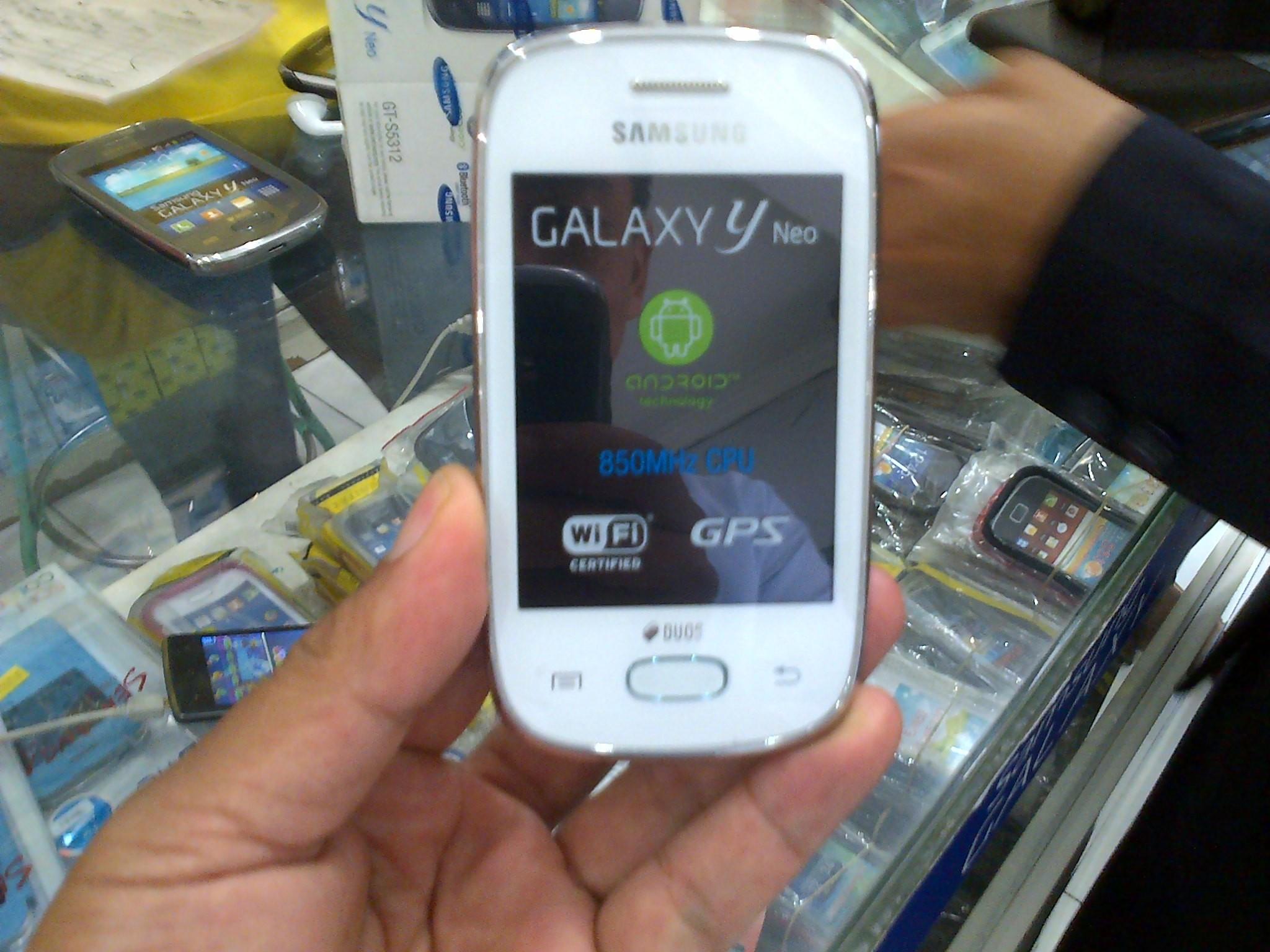 Samsung Galaxy Y Neo S5312 4gb Putih Daftar Harga Terbaru Dan Hp Strawberry Seken Jual Smartphone Young Duos Second Bekas Miftah Cellular