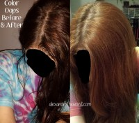 color oops results on black hair color oops results on ...