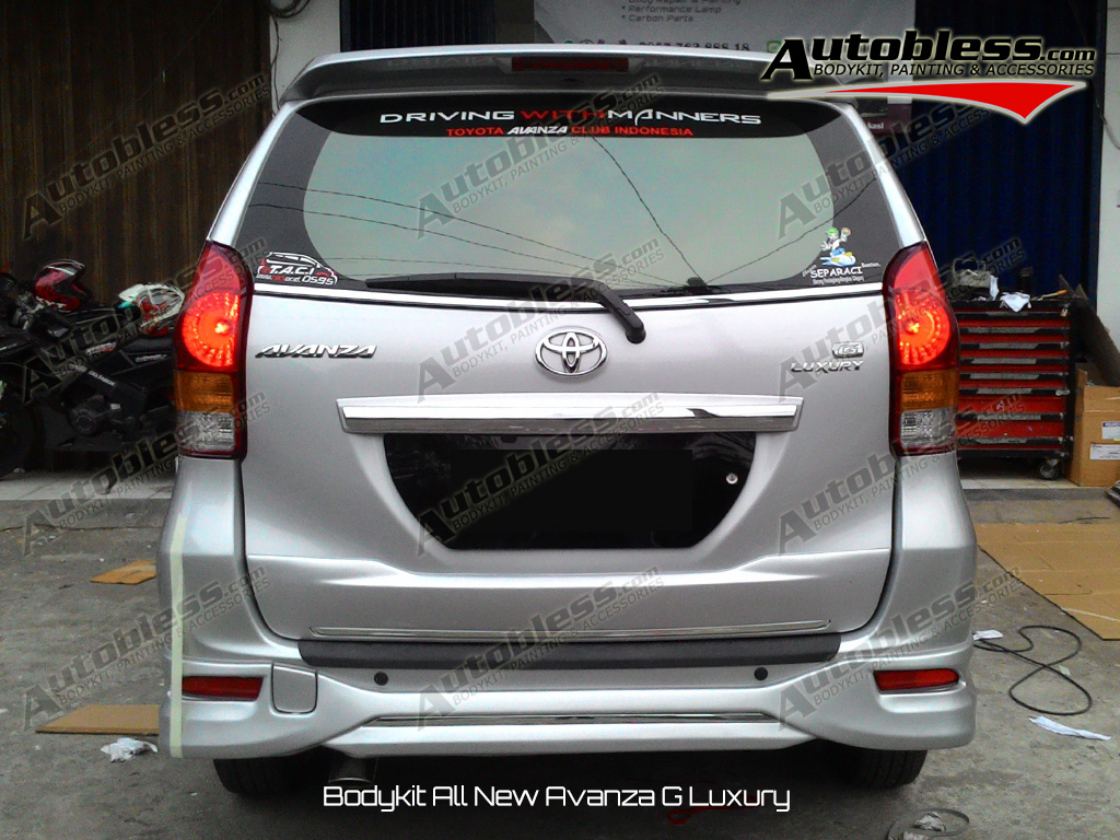 grand new avanza g luxury toyota yaris trd 2018 81 modifikasi mobil jual bodykit type plastik abs grade a