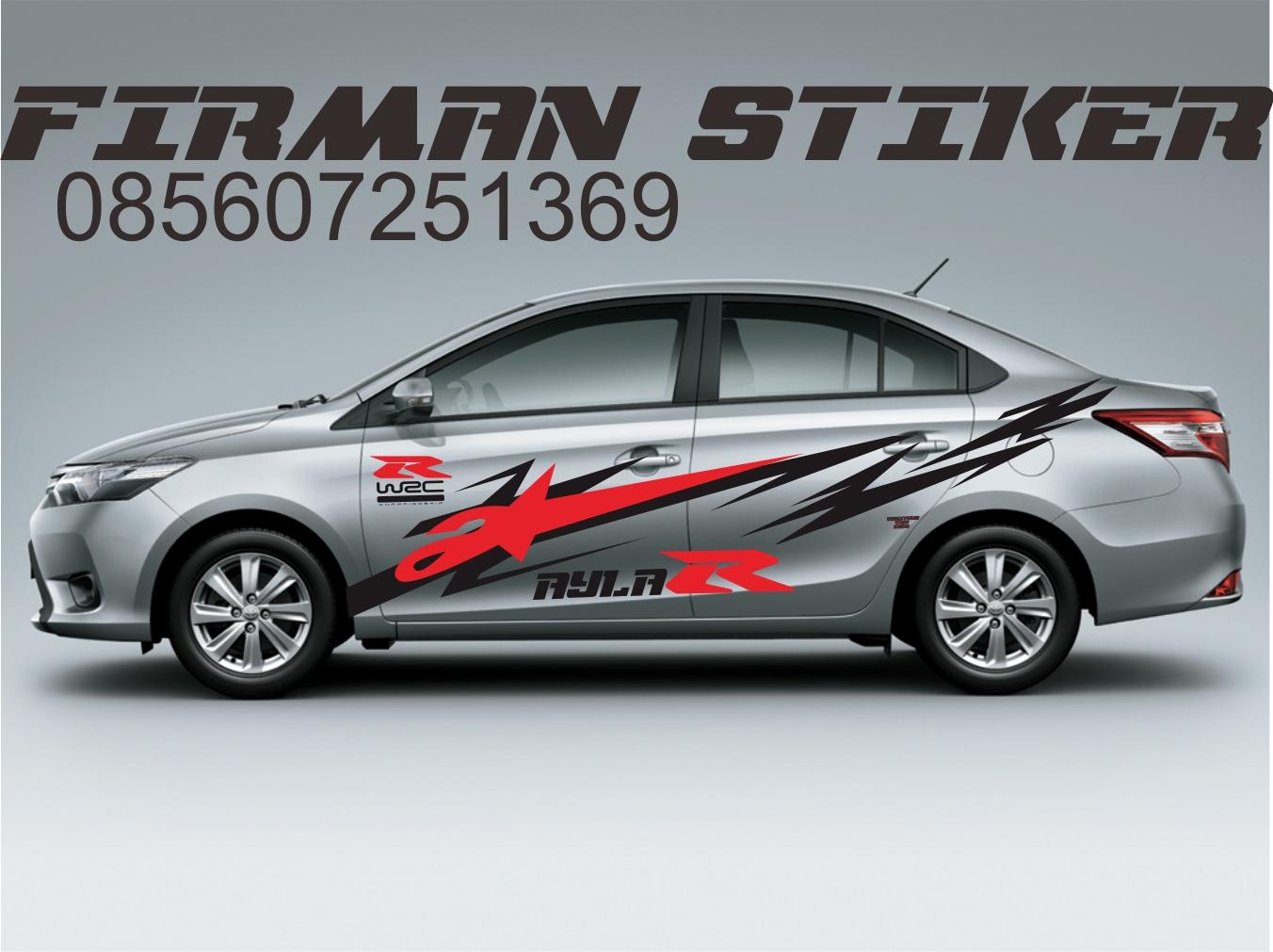 Gambar Stiker Untuk Mobil Sedan Terbaru Dan Terkeren