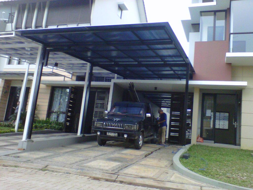 11 model kanopi minimalis atap polycarbonate terbaik buat