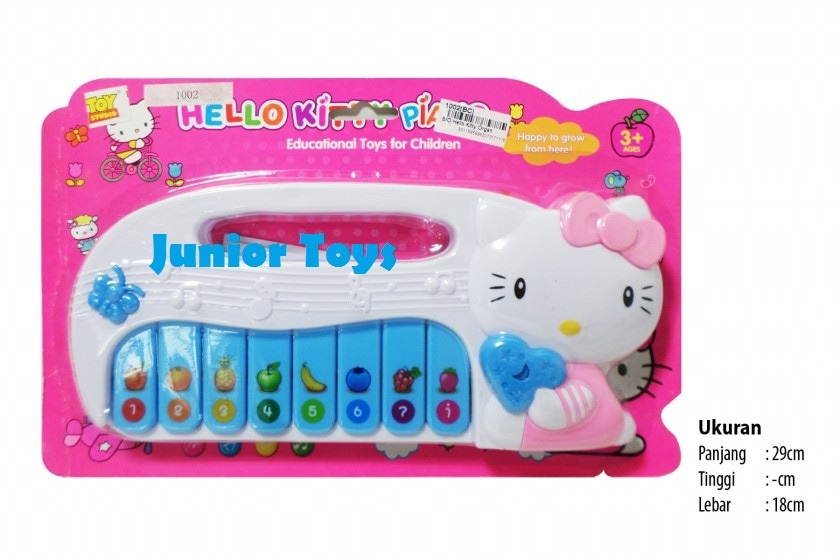 Mainan Piano Hello Kitty