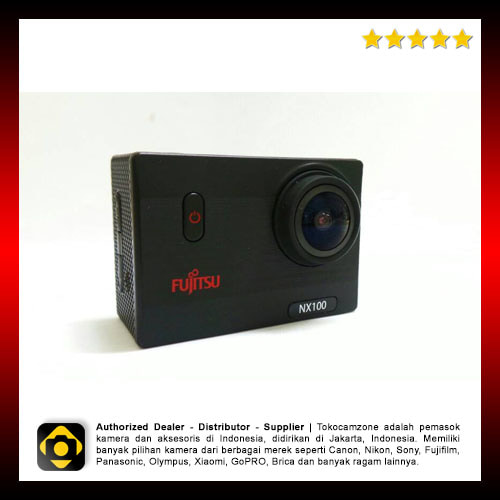 Fujitsu NX100 Wifi Action Camera Full Hd Waterproof
