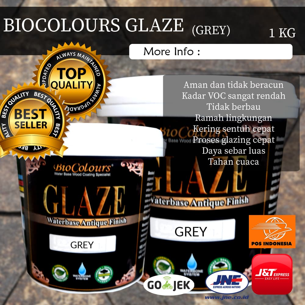 Jual Cat Kayu Glaze Grey Biocolours Juragan Anti Rayap b7dcf9fc4a
