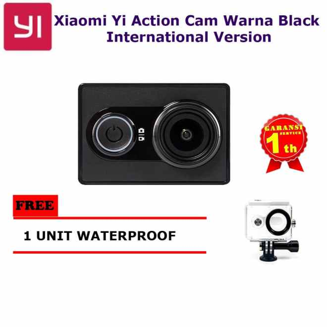 Xiaomi Yi Action Camera - 16 MP International Edition Black+water Case