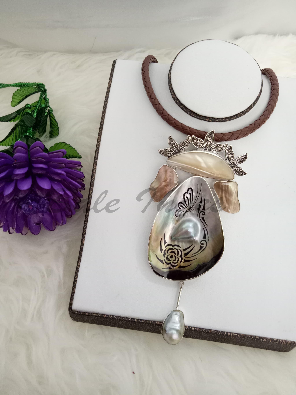 Referensi Harga Kerang Mutiara Laut Desember 2018 Terkini Produk Ukm Bumn Set Dress Rajut Ungu Kalung Bros Silver Handmade Kulit Dan Baroque