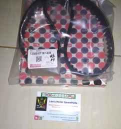 jual timing belt daihatsu zebra s89 espass s91 classy 1 3cc kota depok william shop 7 tokopedia [ 1560 x 1560 Pixel ]