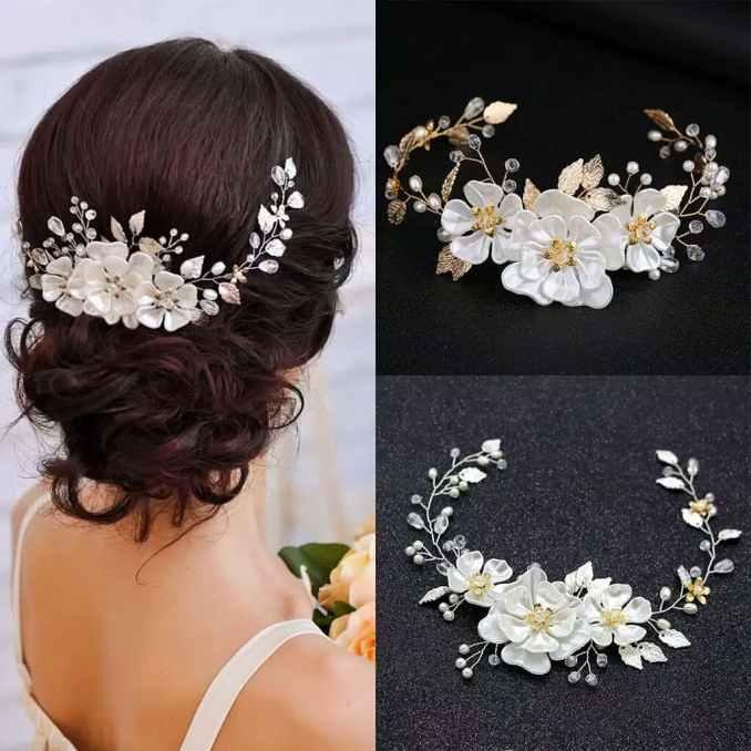 jual bride wedding hair accessories ar036 / headpiece