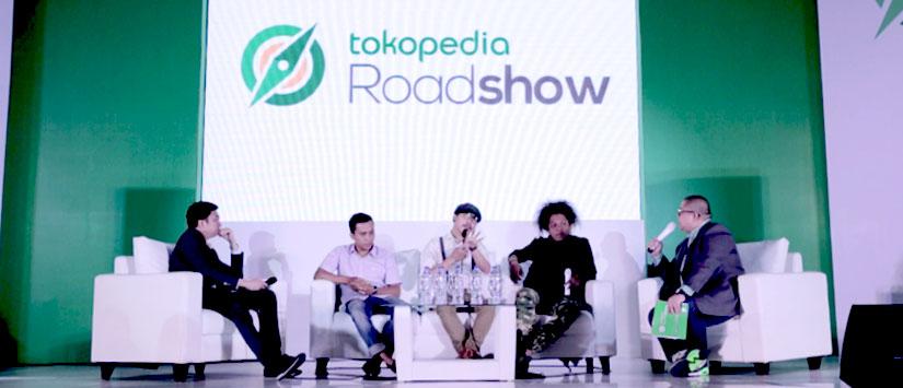 Tokopedia Roadshow Jakarta 2015: Masa Lalu Tidak Bisa Diubah, Masa Depan Bisa Diciptakan. Ciptakan Peluangmu!