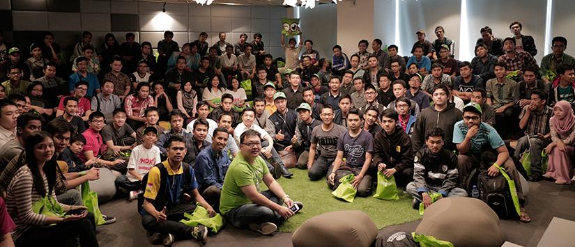 200 Programmer Hackaton Merdeka 2.0 Kunjungi Kantor Tokopedia