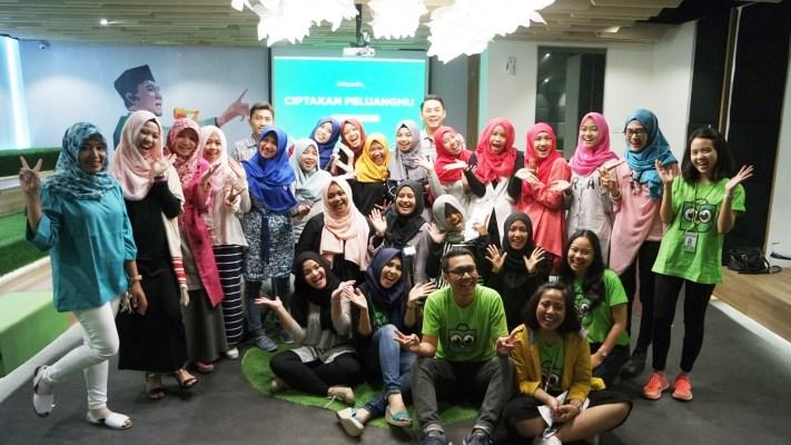 Tokopedia Meet Up : Bersama Hijaber United Menciptakan Peluang