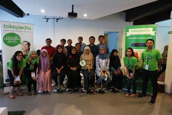 Serunya Kunjungan Mahasiswa Universitas Negeri Jakarta ke Kantor Tokopedia