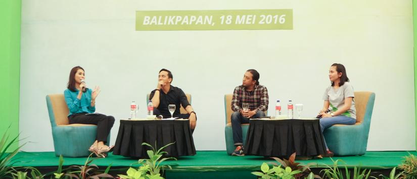 Tokopedia Roadshow 2016: Toppers Balikpapan yang Kreatif dan Rajin