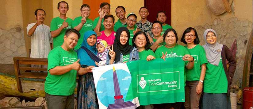 NOBAR TopCommunity Malang: Kumpul dan Belajar Bareng Seputar Jualan Online