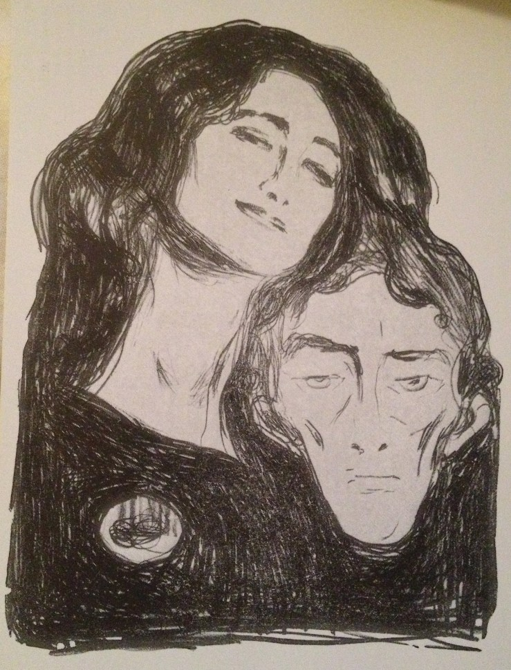 Postcard of Edvard Munch's Salome