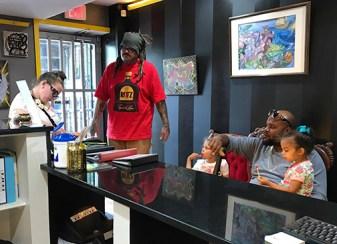 KG, Amanda, & family