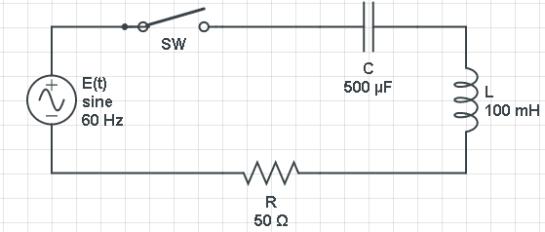 Circuito Rlc : Circuitos electricos rlc y ecuaciones diferenciales