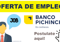 oferta empleo banco pichincha
