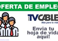 oferta empleo tvcable