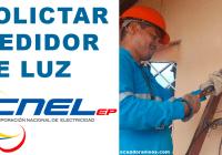 requisitos medidor de luz cnel guayaquil