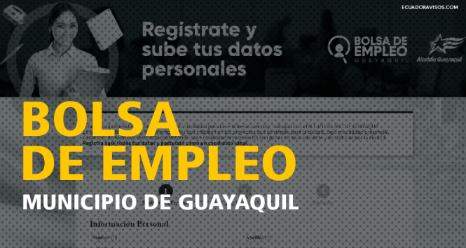 bolsa-empleo-municipio-guayaquil-postularse