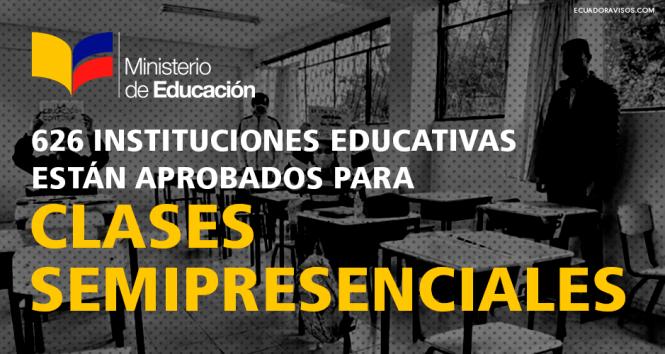 clases semipresenciales instituciones educativas aprobadas