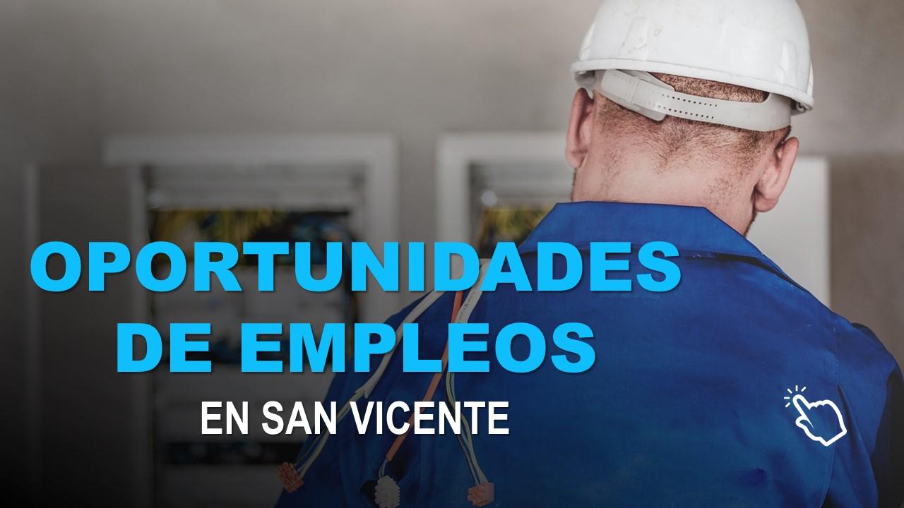 Oportunidades de Empleos en San Vicente