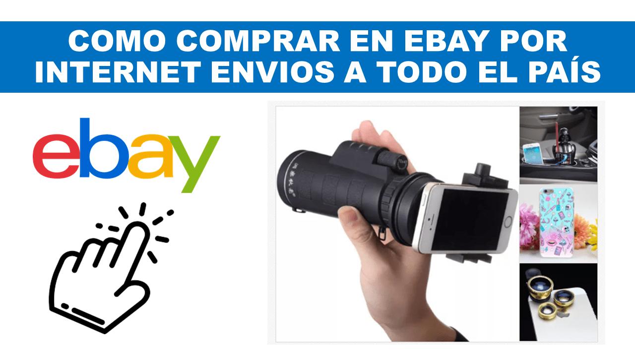 COMO COMPRAR EN EBAY POR INTERNET ENVIOS A