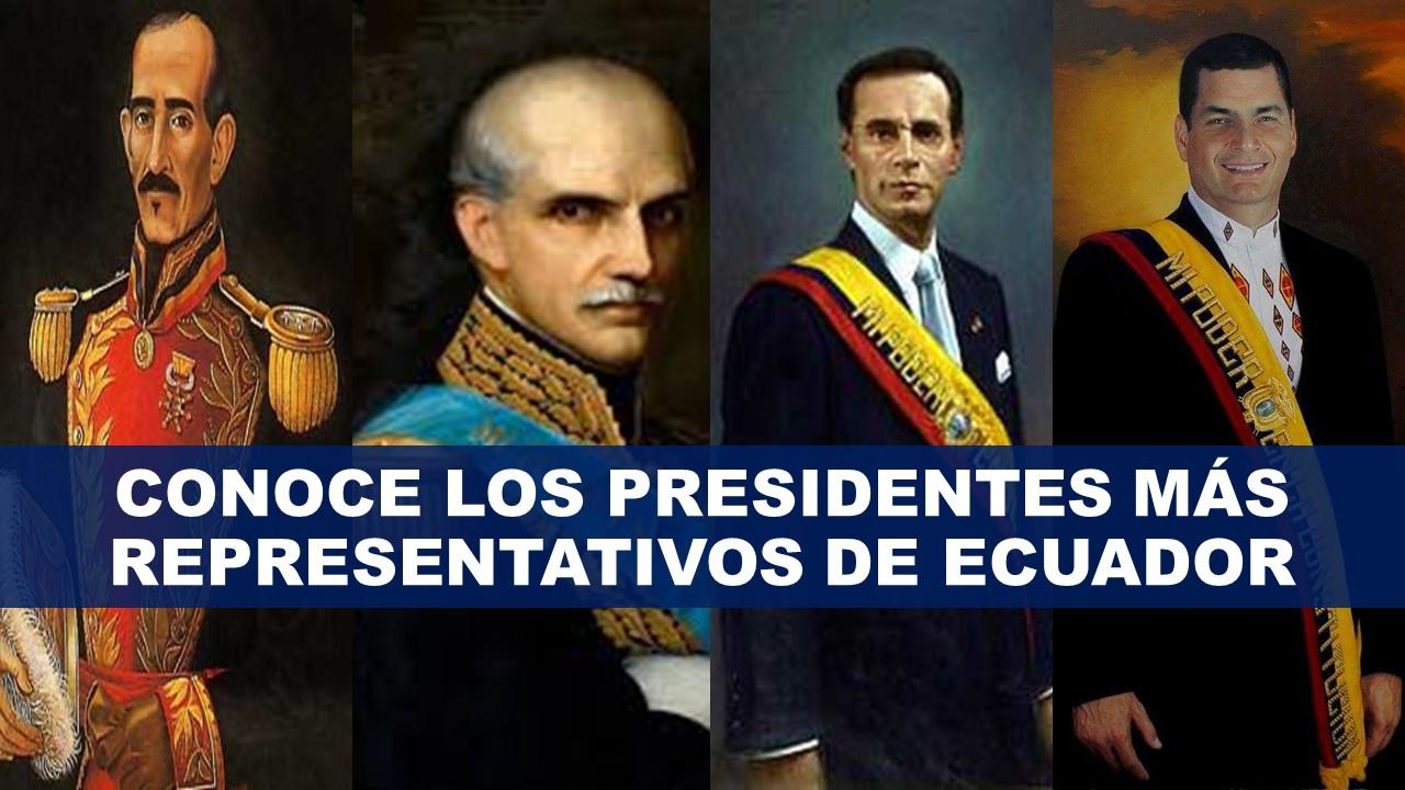 Presidentes más representativos por sus obras en el Ecuador