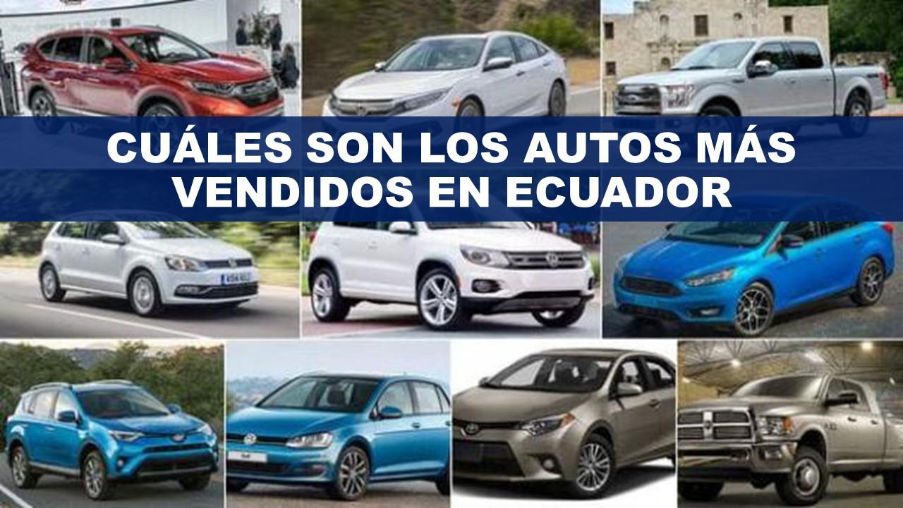 ¿Cuáles son los autos más vendidos en Ecuador?