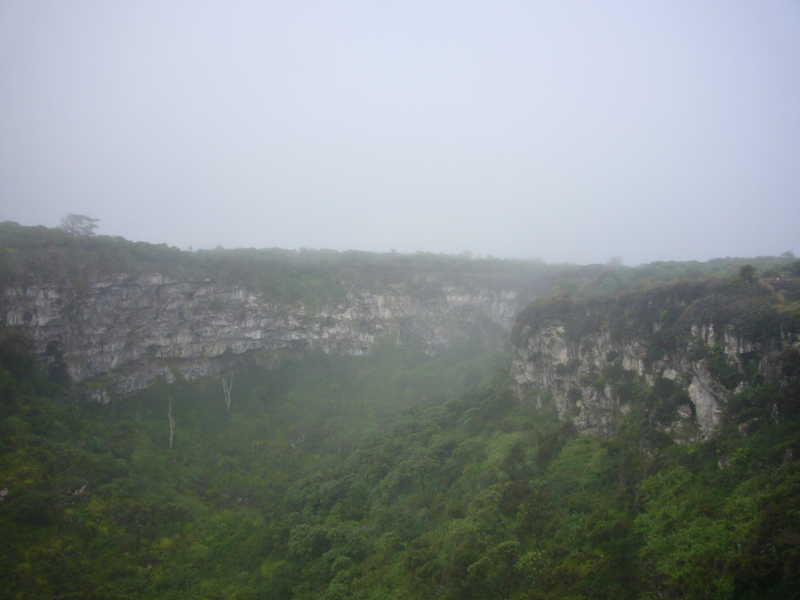 Cráter de 1 de uno de Los Gemelos.