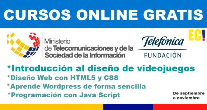 curso online gratis ecuador