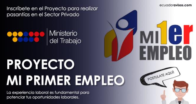 ministerio-de-trabajo-mi-primer-empleo-ecuador