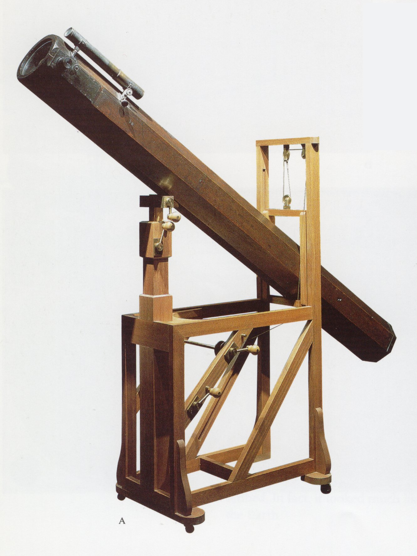 Newton S Reflecting Telescope
