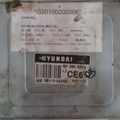 Hyundai Atos Ecu Wiring Diagram Micrologix 1400 3911002740 1 0i 40kw S02808224