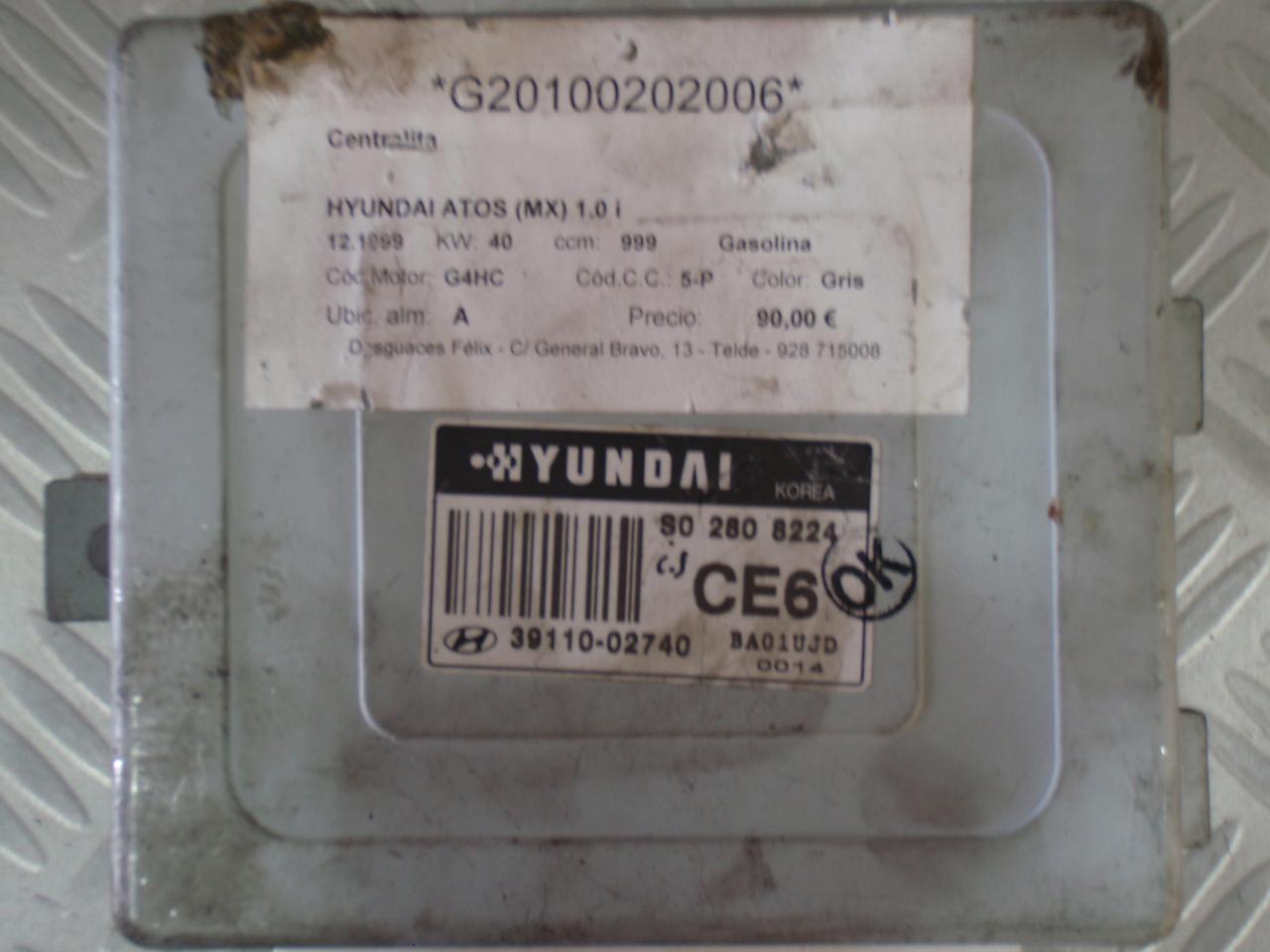 hyundai atos ecu wiring diagram 2002 mitsubishi lancer fuel pump 3911002740 1 0i 40kw s02808224