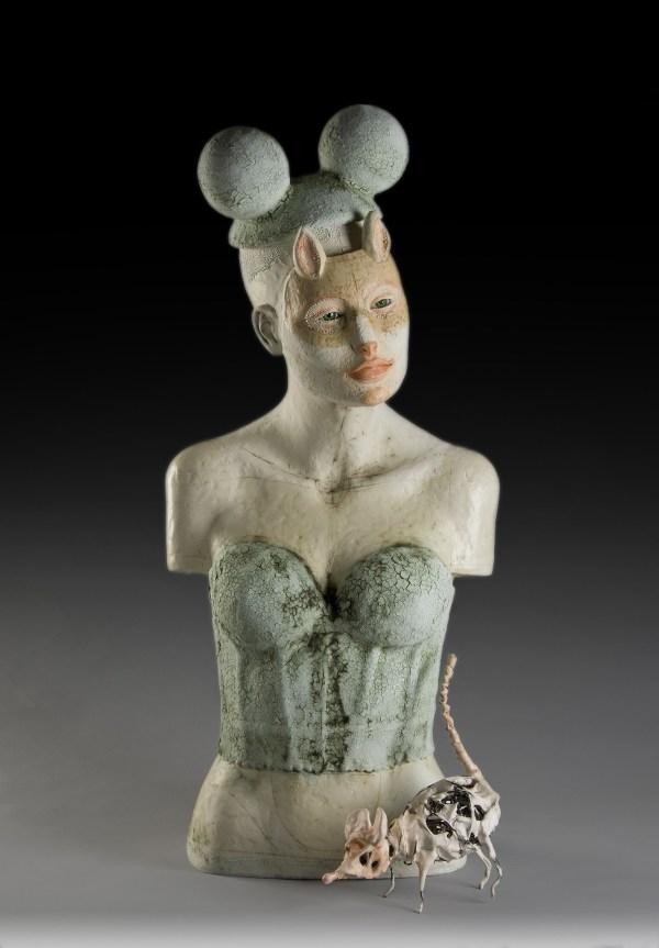 Clay Figure Sculpture Ceramics