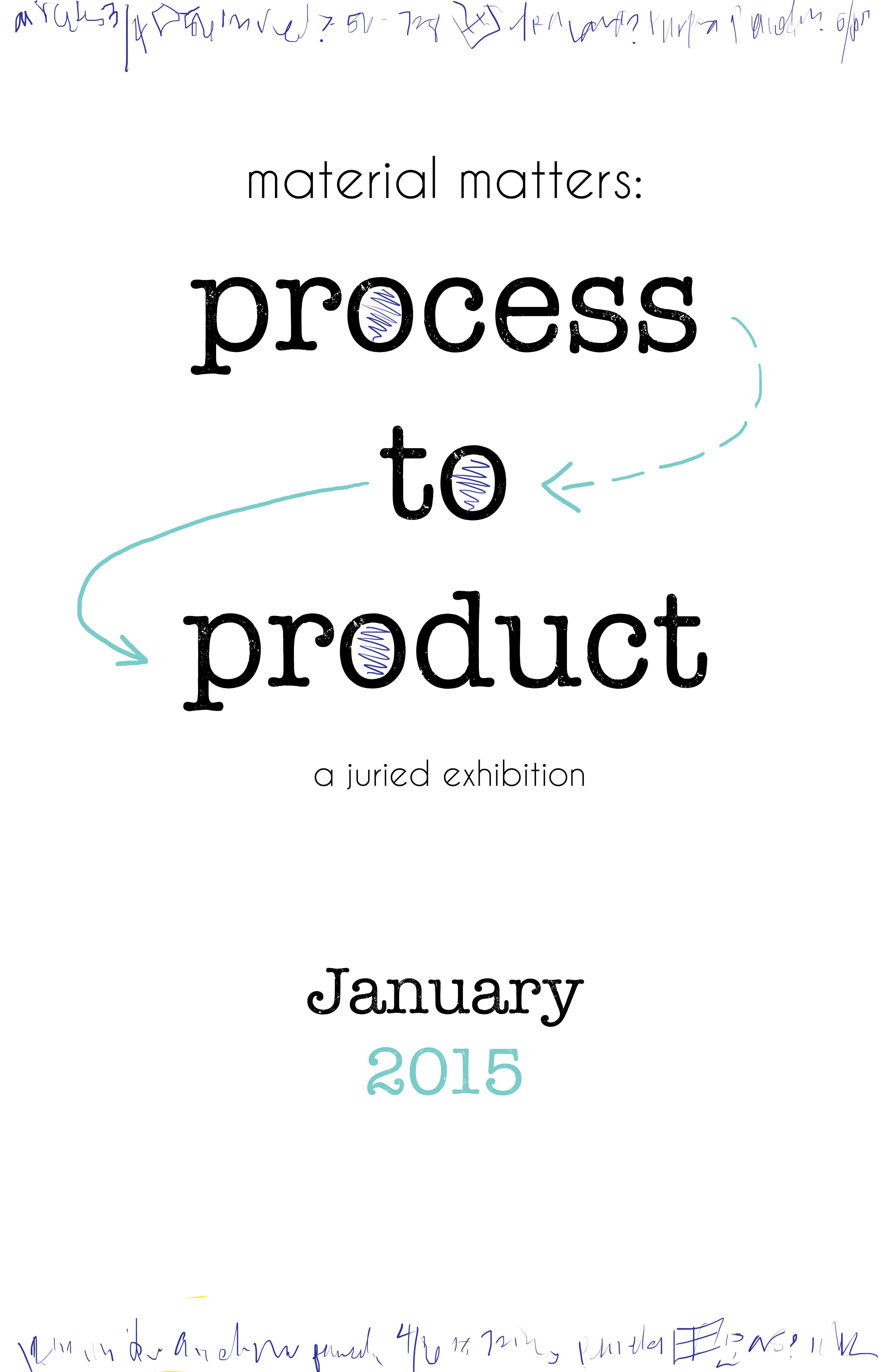 First Call for Entry! Material Matters: Process to Product