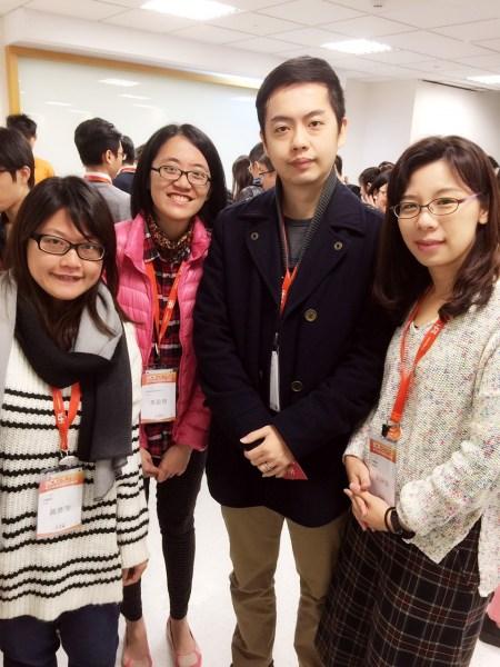 【ECX 2015 參加者採訪報導】許勝淵與劉靜怡