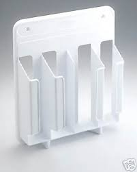 Rubbermaid Cabinet Door Mounted Wrap and Bag Organizer