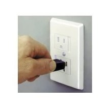 Child safety outlet cover