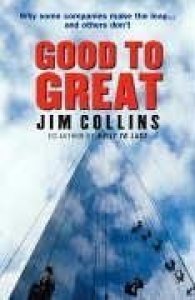 """Cover of """"Good to Great"""""""