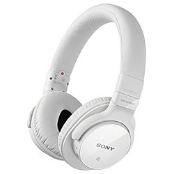ソニー Bluetooth対応ノイズキャンセリング搭載ダイナミック密閉型ヘッドホン(ホワイト)SONY MDR-ZX750BN-W