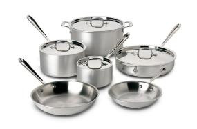 All-Clad MC2 10-Piece Cookware Set