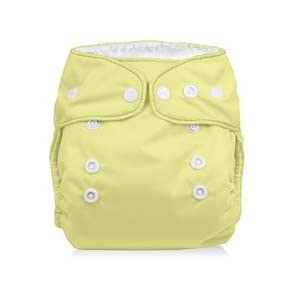 SmartiPants Onesize Cloth Diaper - Mellow Yellow