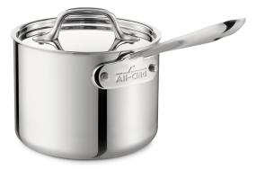 All-Clad Stainless Steel 1.5-Quart Sauce Pan
