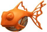 Medelco Dunkfish Tea Infuser, Orange