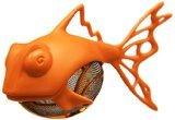 Medelco Dunkfish Tea Infuser, Orange